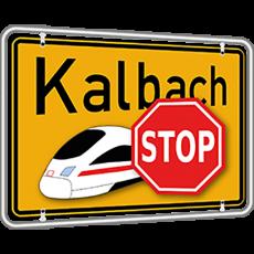 Gemeindevertretung Kalbach befasst sich auf ihrer Sitzung am 22.02.2017 mit Antrag der Bürgerinitiative (BI) gegen eine weitere Bahntrasse durch Kalbach
