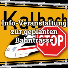 Bericht: 2. Info-Veranstaltung zur geplanten Bahntrasse von Frankfurt nach Fulda